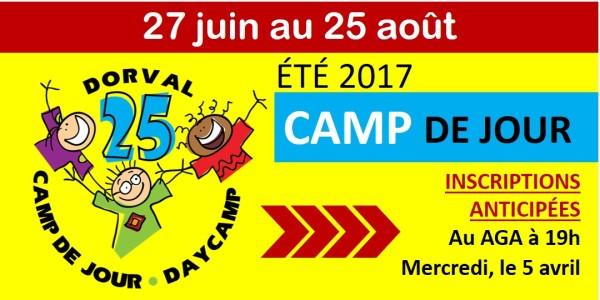 Camp D'ÉTÉ 2017 AGA